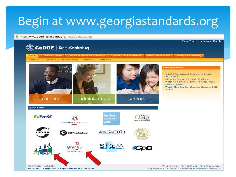 8 th Grade Standards