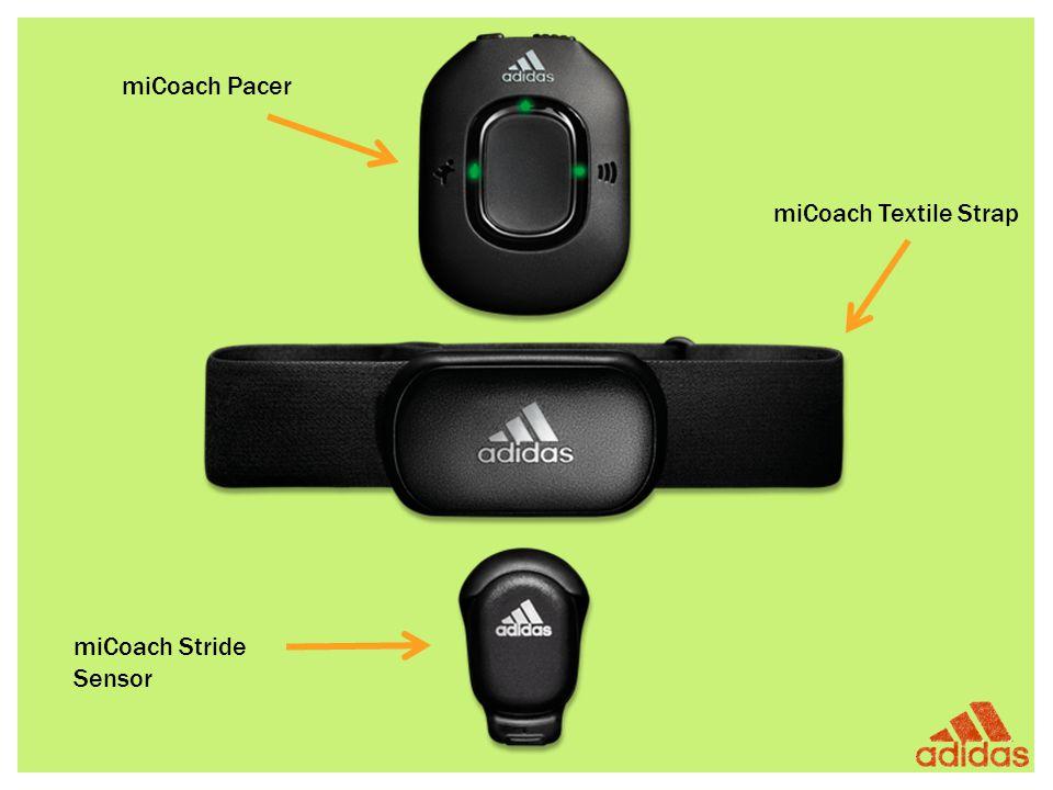 miCoach Pacer miCoach Textile Strap miCoach Stride Sensor