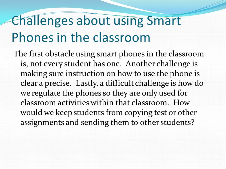 ISTE\NET Standards concerning Smart Phones Technology Standards that are included while using this device include: Communication and Collaboration, Research and Information Gathering, Digital Citizenship and Technology Operations and Concepts