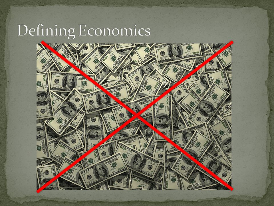 1.A key theme fundamental to all of economics is: A.