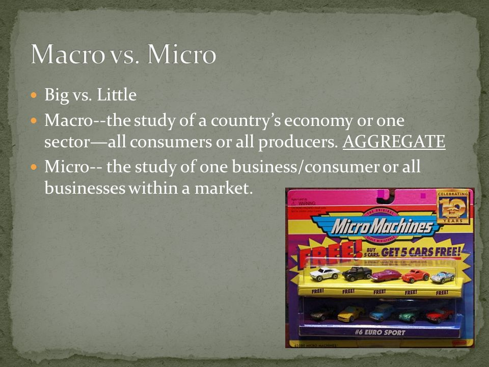 4.Which of the following statements would be a part of macroeconomics.