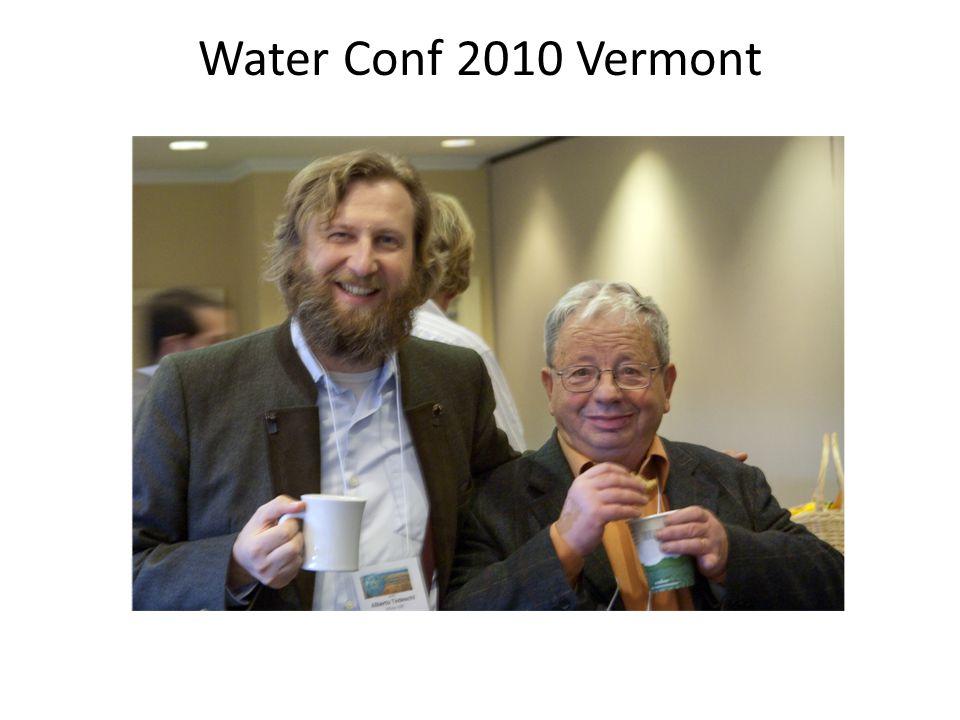 Water Conf 2010 Vermont