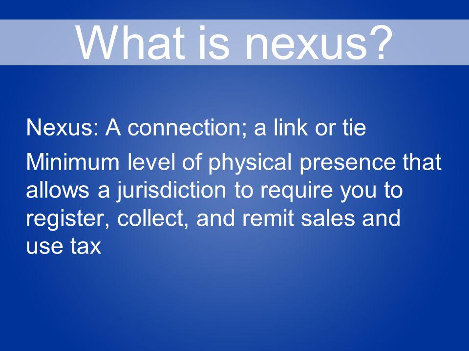 What is nexus.