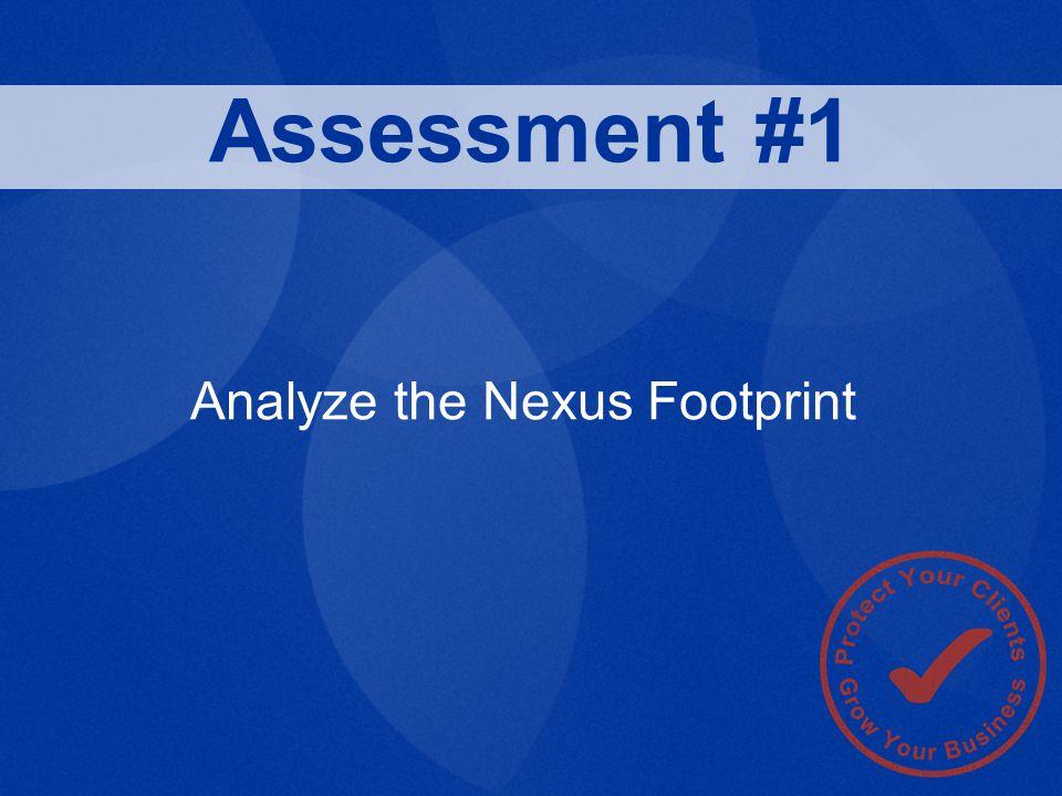 Analyze the Nexus Footprint Assessment #1