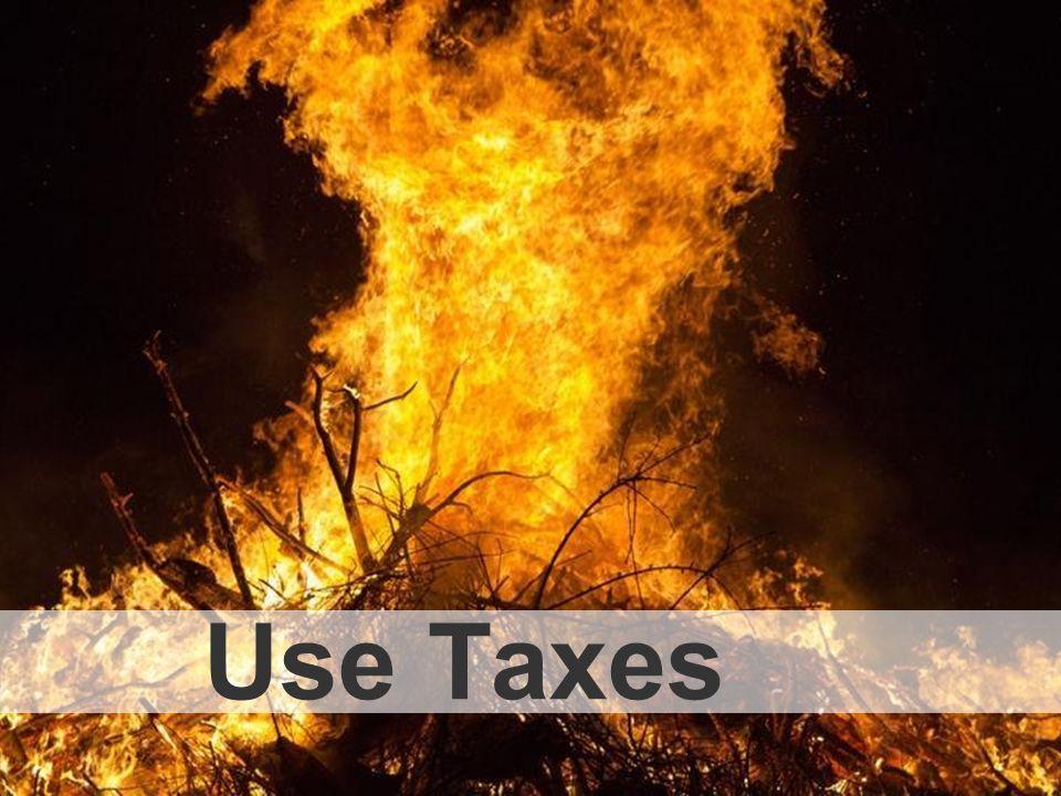 Use Taxes