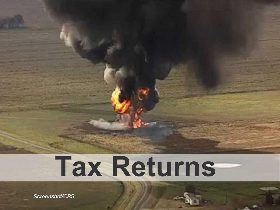Tax Returns Screenshot/CBS