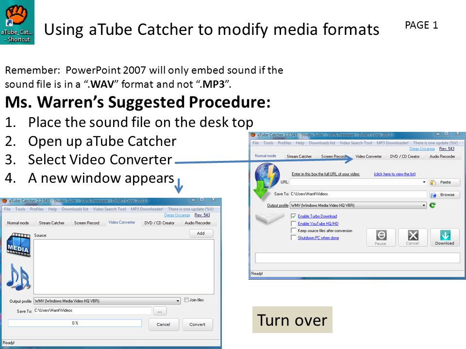 Remember: PowerPoint 2007 will only embed sound if the sound file is in a .WAV format and not .MP3 .