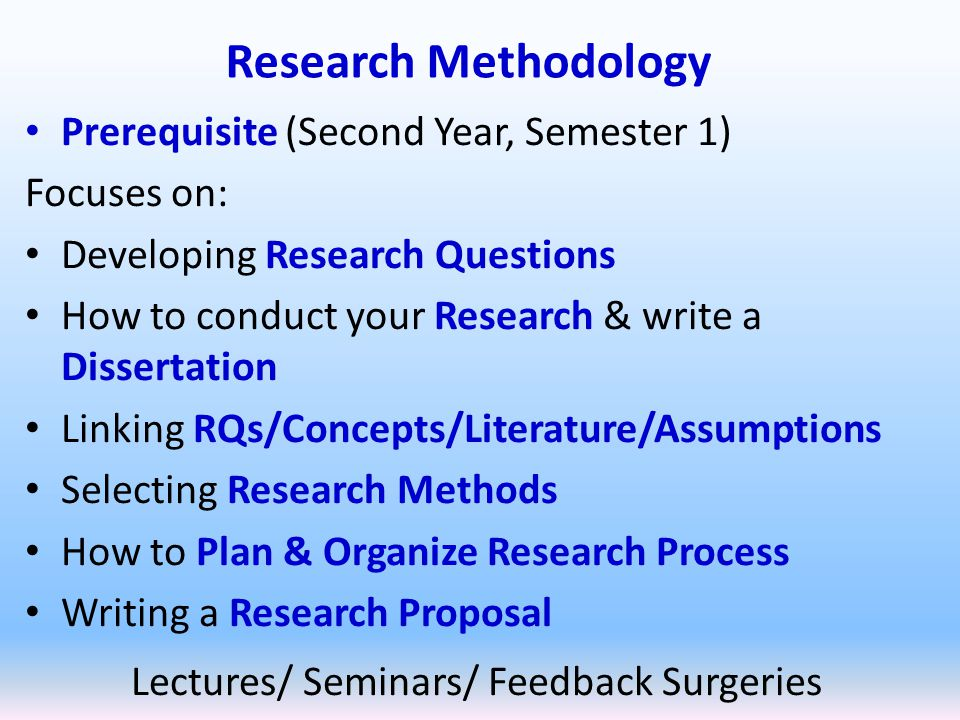 Course Outcomes Undergraduate Dissertations – overall process – proposals, researching planning, supervision, writing a dissertation...