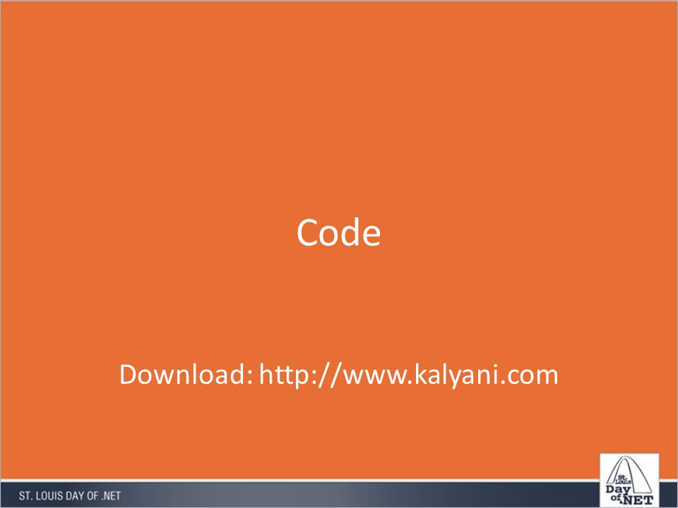 Code Download: http://www.kalyani.com