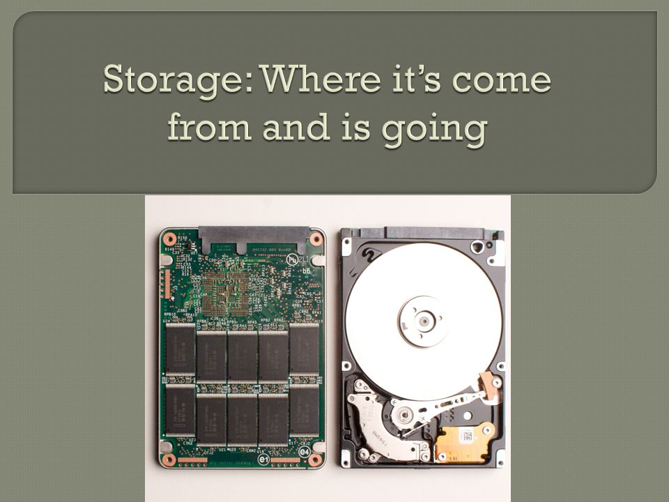  We've all used SSDs before, the same technology is used in USB Flash Drives and they only function around 5-40MB/s.