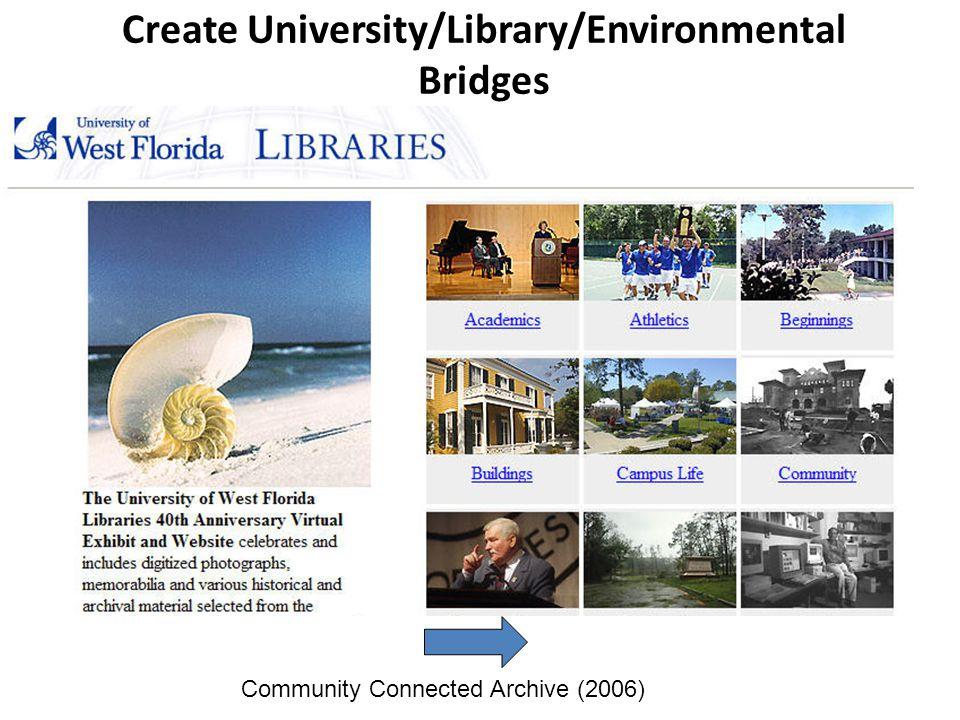 Create University/Library/Environmental Bridges Community Connected Archive (2006)