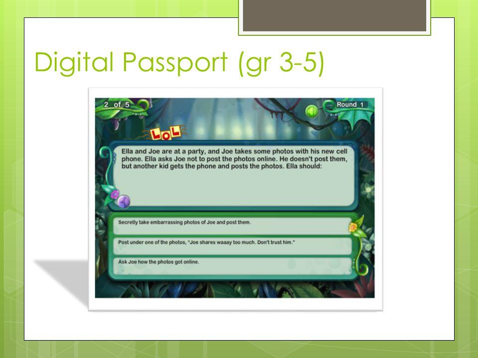 Digital Passport (gr 3-5)