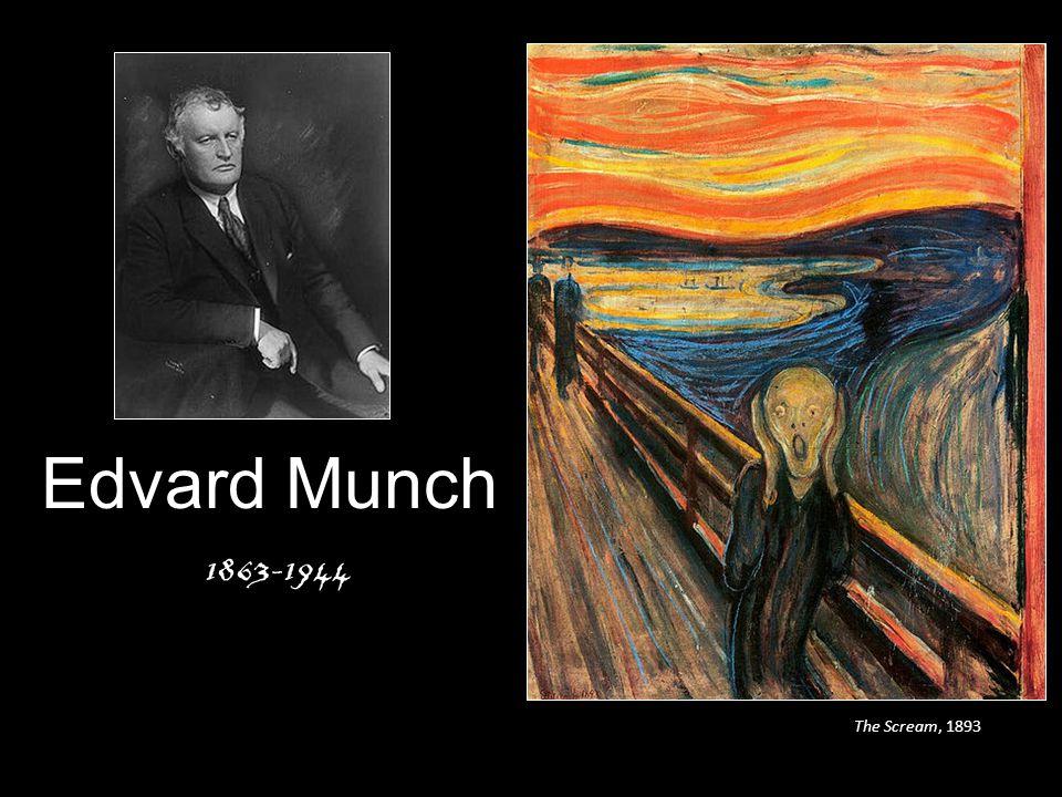 Edvard Munch 1863-1944 The Scream, 1893