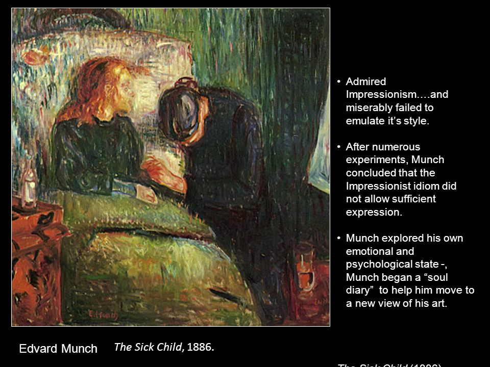 Death in the Sickroom. c. 1895 Edvard Munch