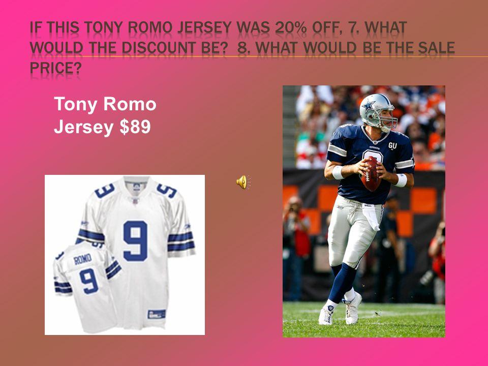Tony Romo Jersey $89