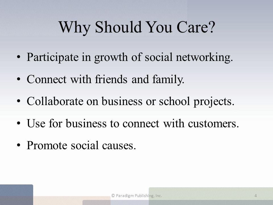 7.1 The Social Web Phenomenon © Paradigm Publishing, Inc.5