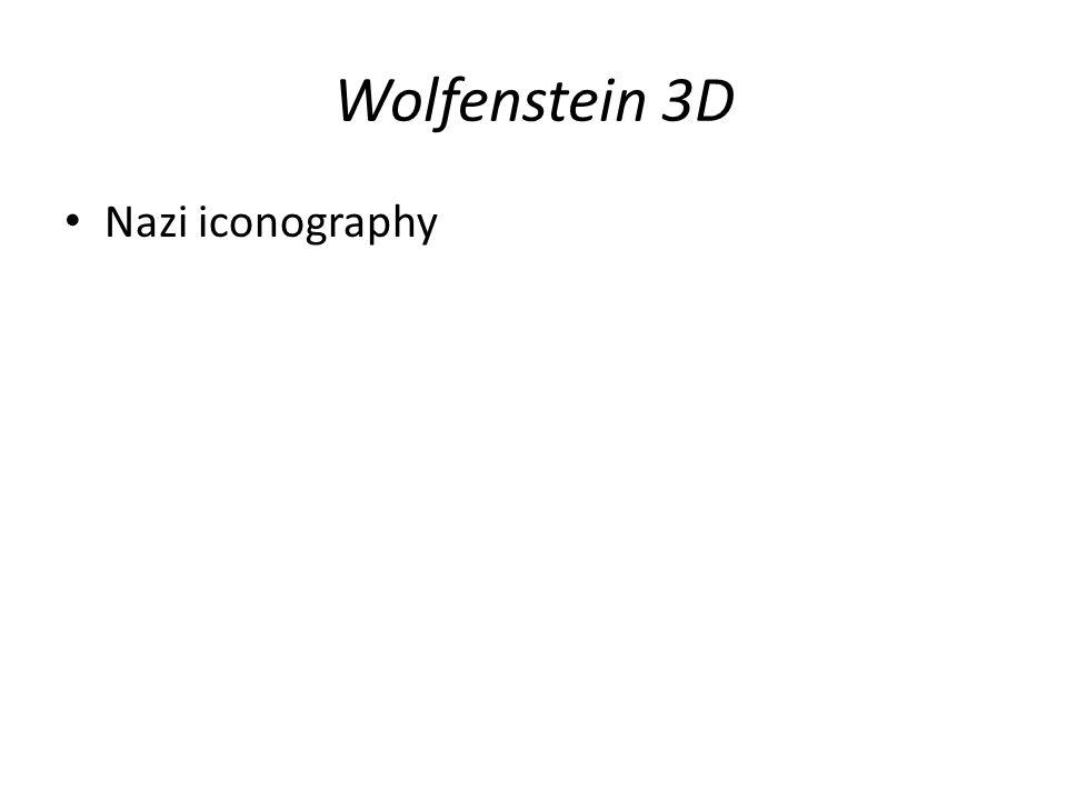 Wolfenstein 3D Nazi iconography