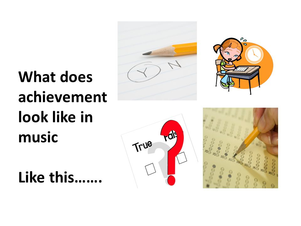 What does achievement look like in music Like this…….