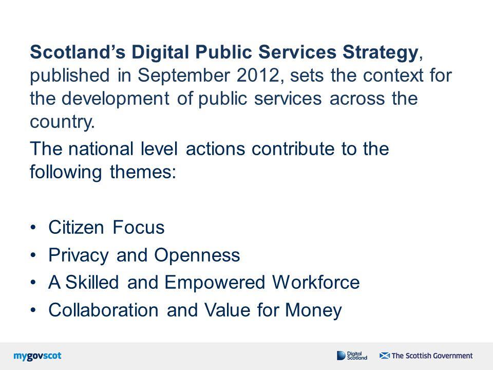 Digital Participation Digital Economy Public Service Delivery Digital Connectivity