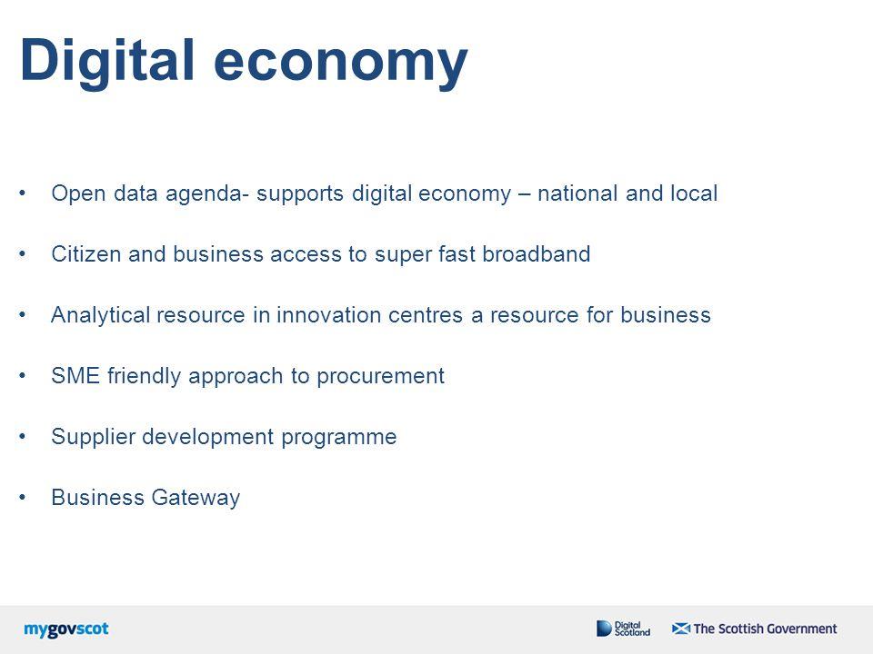 Connectivity Step Change Community Broadband Scotland Demonstrating Digital Mobile Policy / City Wi-Fi World Class 2020