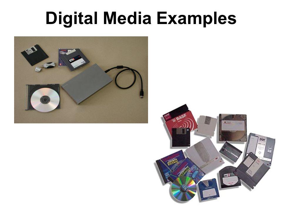 Digital Media Examples