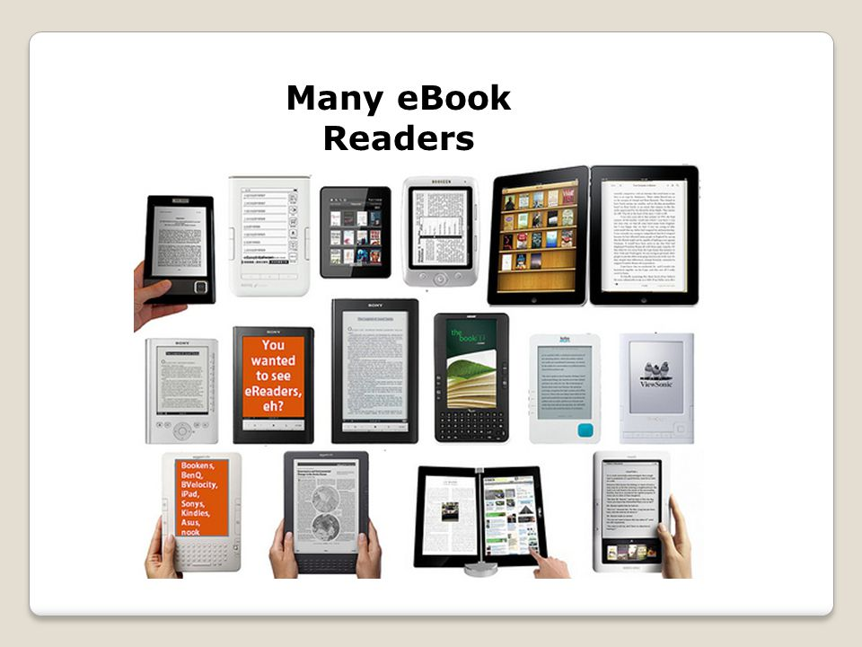 Many eBook Readers