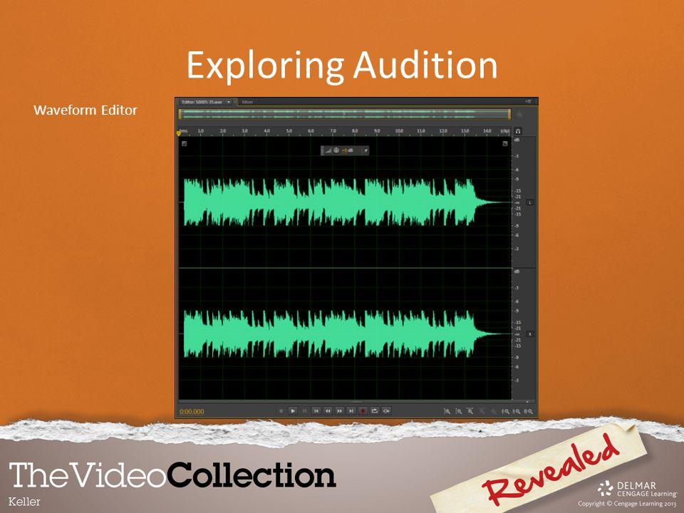 Waveform Editor Exploring Audition