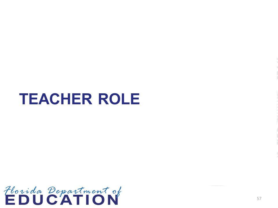 TEACHER ROLE 57