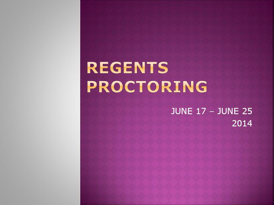 JUNE 17 – JUNE 25 2014