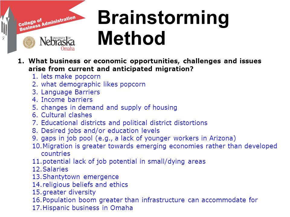 Brainstorming Ranking