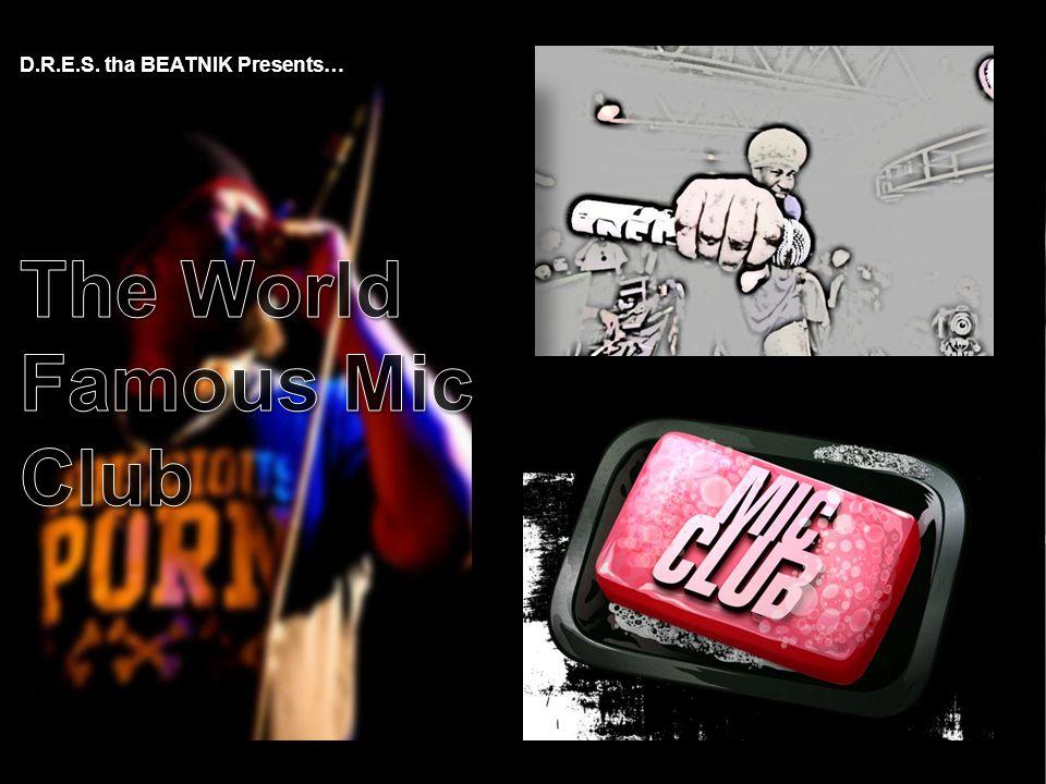 D.R.E.S. tha BEATNIK Presents…