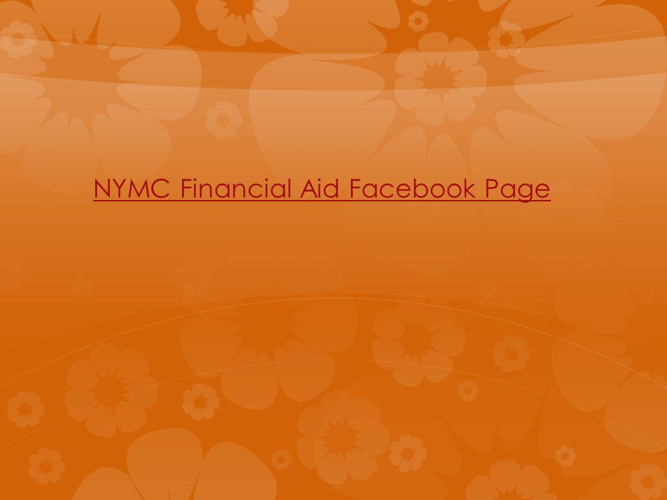 NYMC Financial Aid Facebook Page