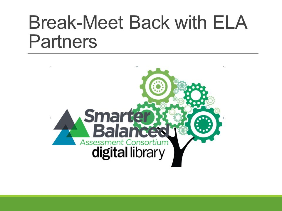 Break-Meet Back with ELA Partners
