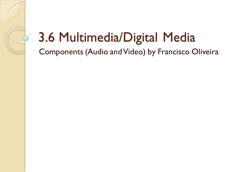 MOV This is the QuickTime format.