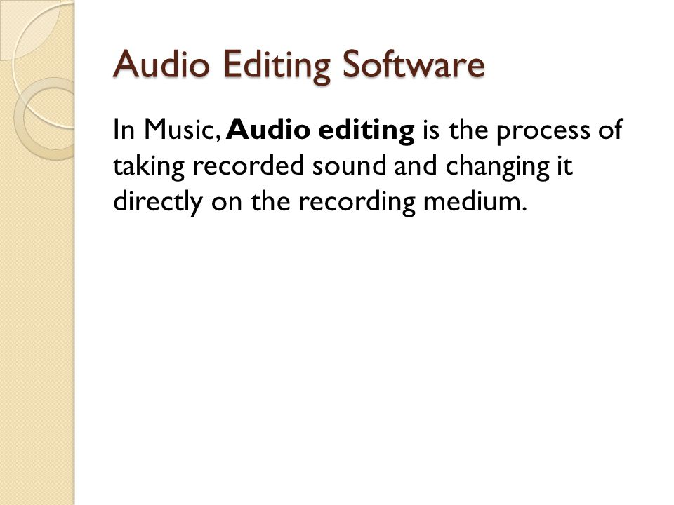 Examples Of Audio Editing Software Audacity Wavosaur DJ Audio Editor