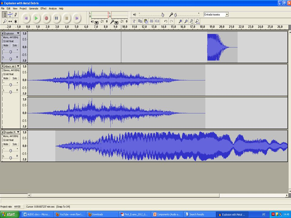 Wavosaur This is a free audio editor and recorder and can only run on microsoft operating systems.
