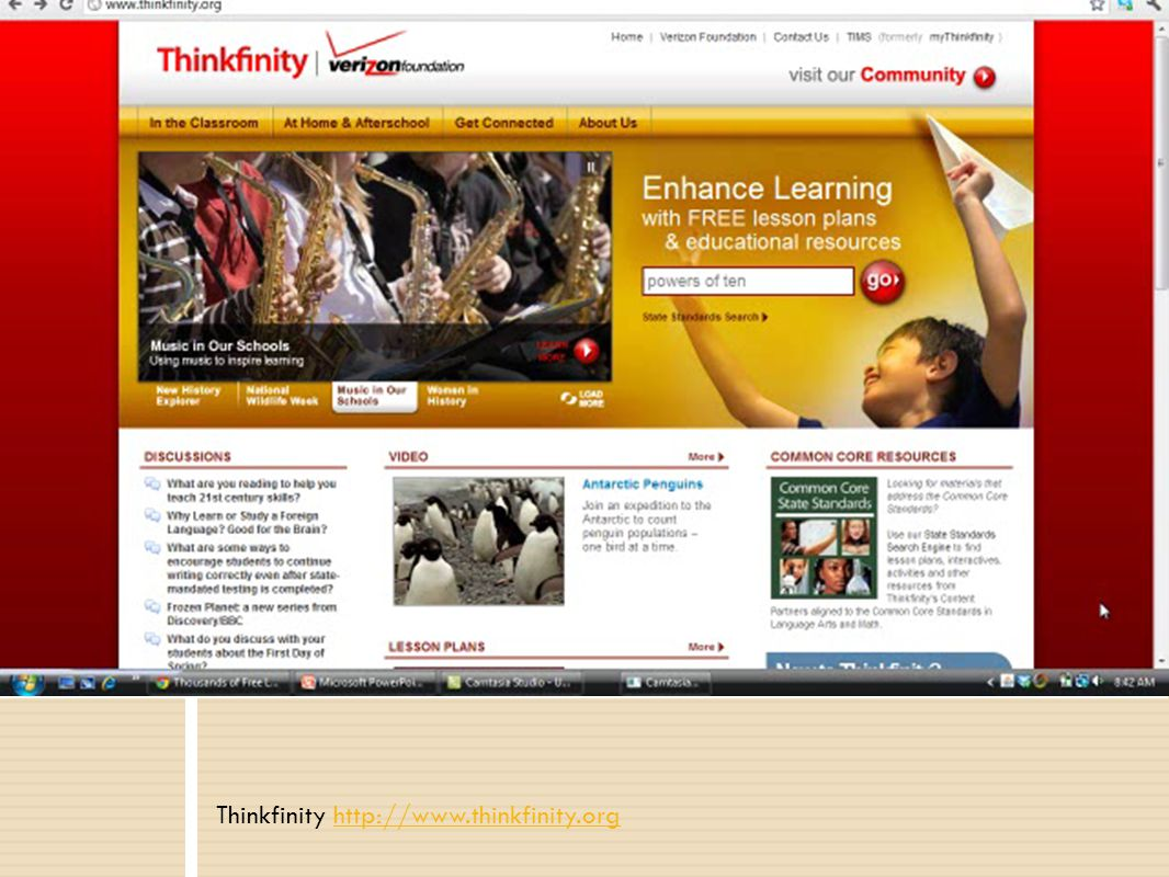 Thinkfinity http://www.thinkfinity.orghttp://www.thinkfinity.org Online Resources