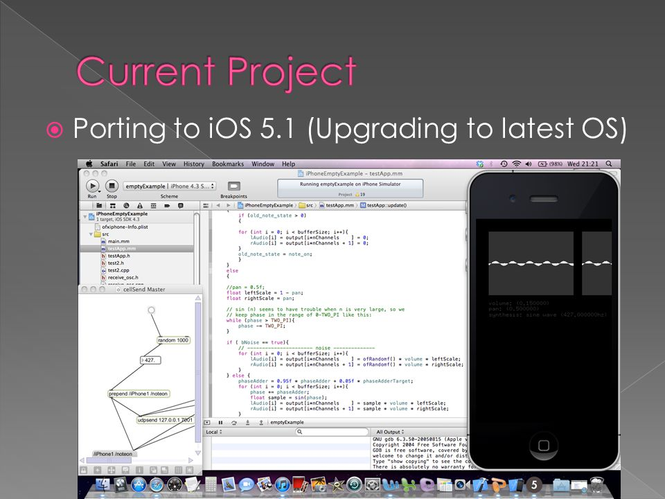  Porting to iOS 5.1 (Upgrading to latest OS)