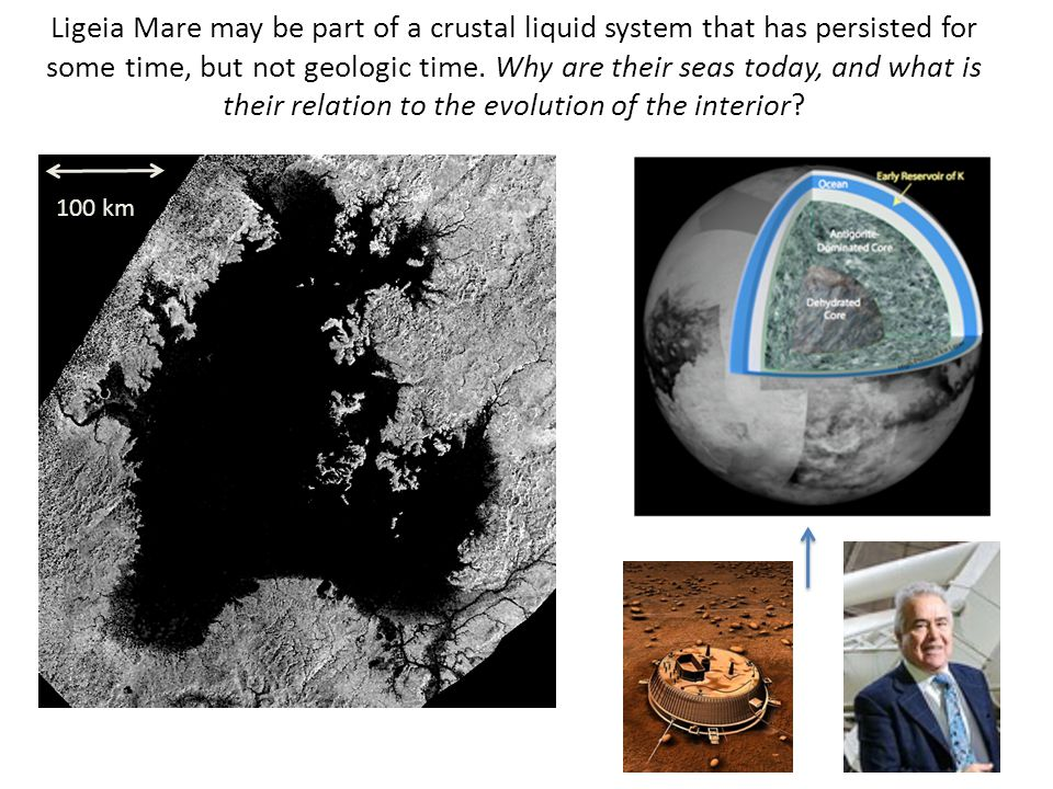 Ligeia Mare may be part of a crustal liquid system that has persisted for some time, but not geologic time.