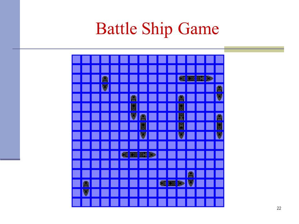Battle Ship Game 22