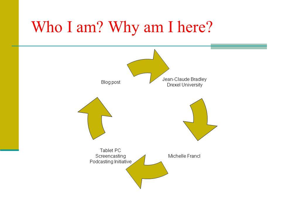 Who I am. Why am I here.
