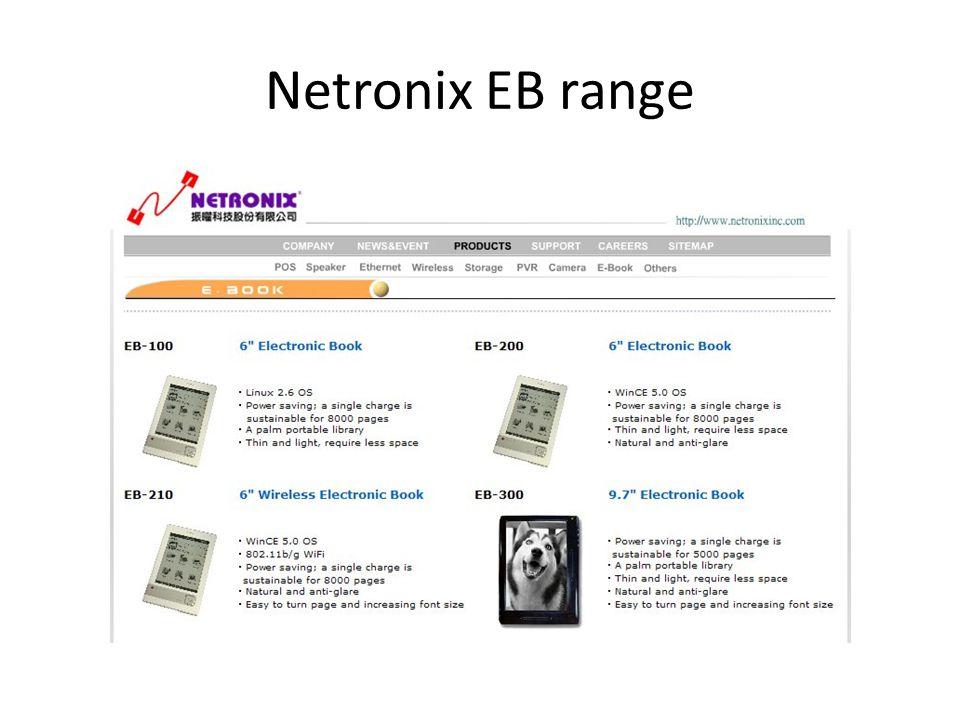 Netronix EB range