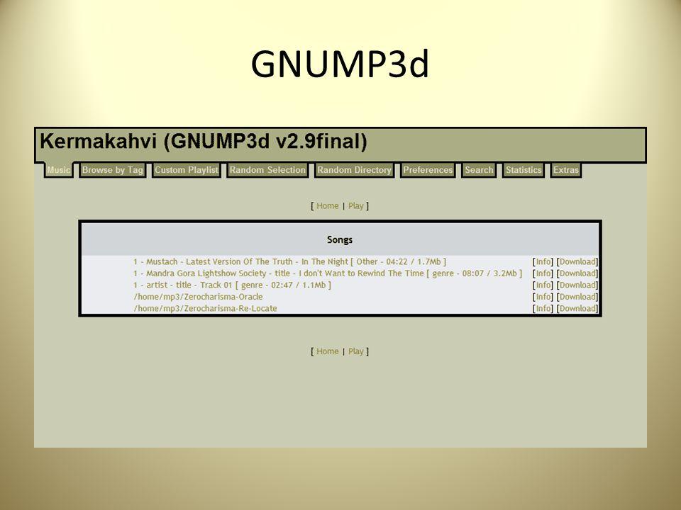 GNUMP3d