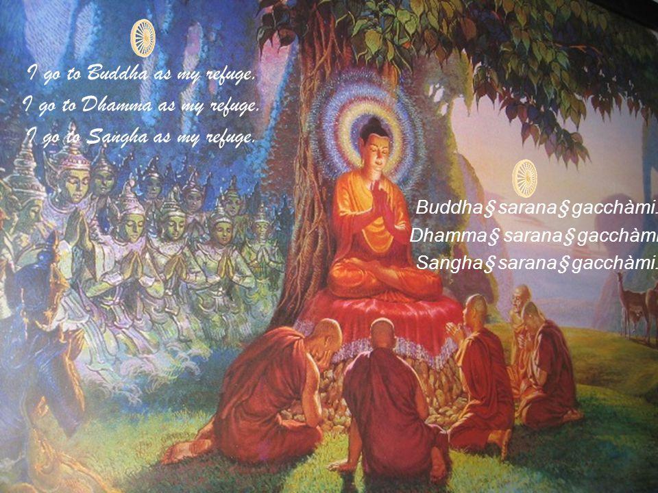 Namo Tassa Bhagavato Arahato Sammasambuddhassa. Homage to Him, the Blessed One, the Worthy One, the Perfectly Self-Enlightened One.