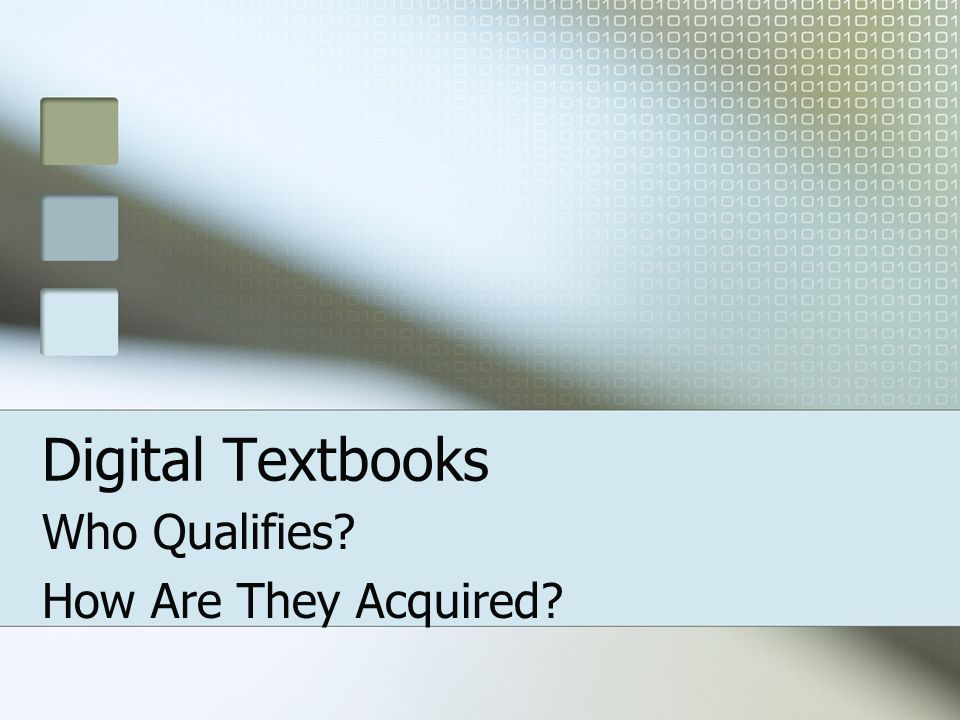 How Do I Acquire Digital Textbooks For My Students.