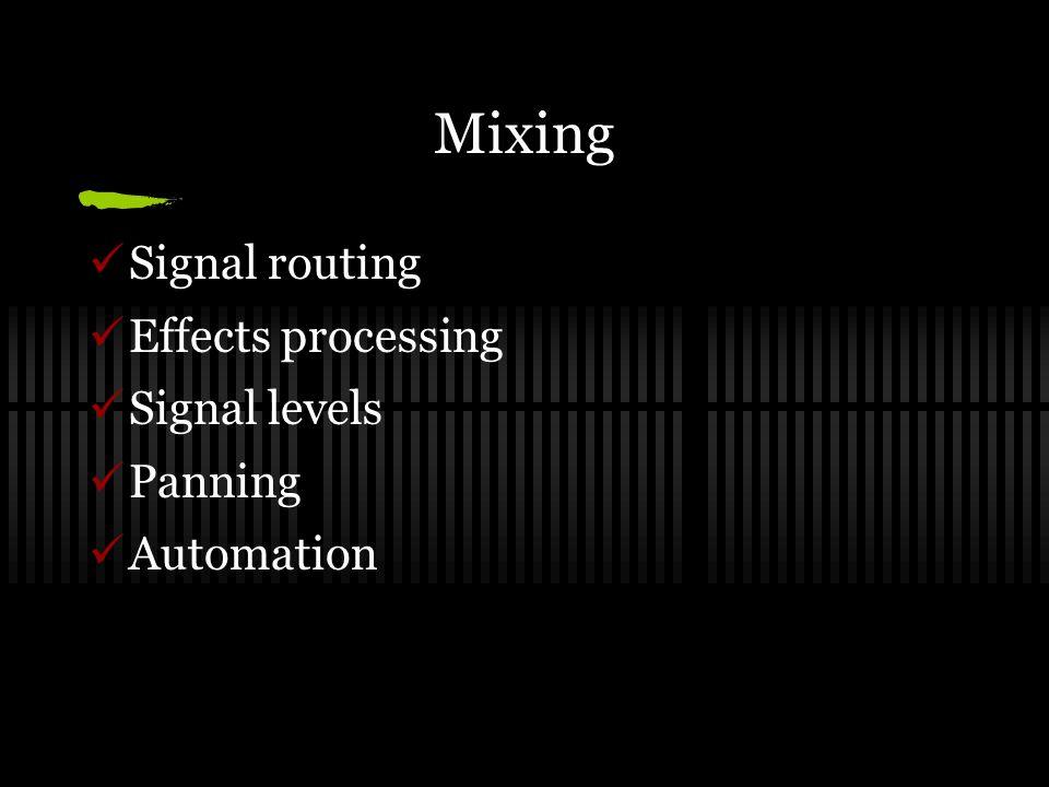 Pro Tools: HD DSP hardware & TDM technology Professional studios Sample rates up to 192kHz Bit depth up to 24 192 tracks & 256 MIDI tracks