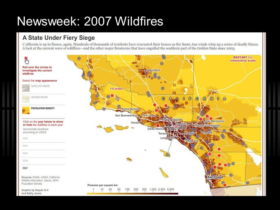 Newsweek: 2007 Wildfires