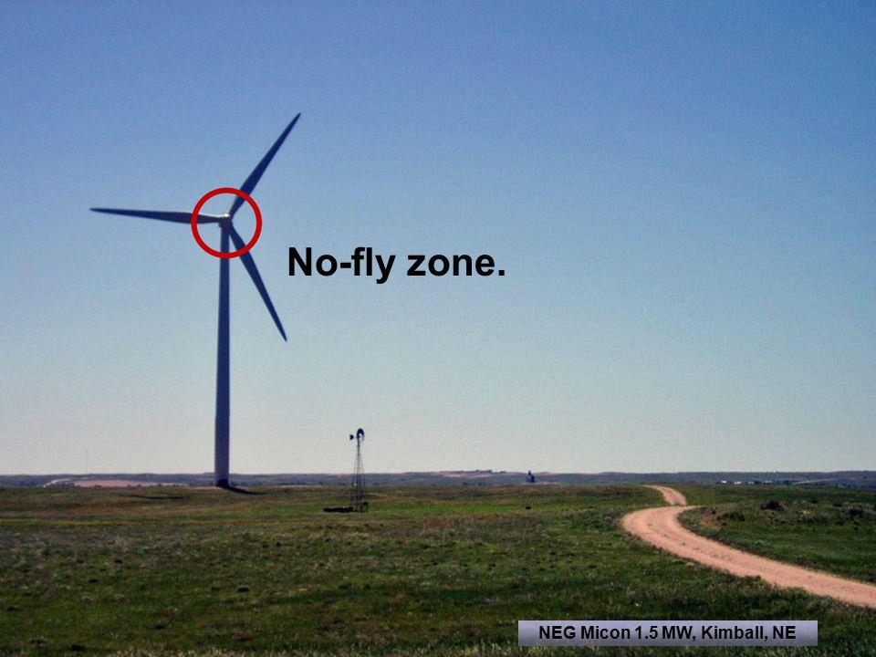 No-fly zone. NEG Micon 1.5 MW, Kimball, NE