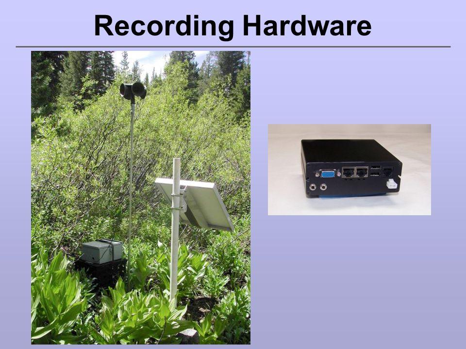 Audio Recorders vs.