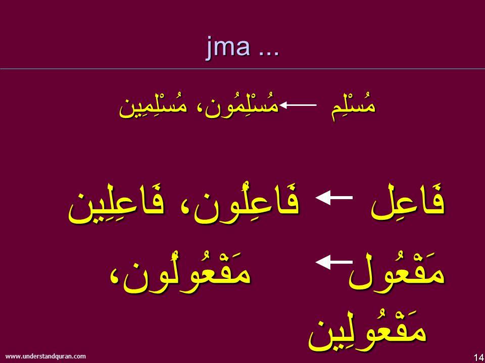 14 www.understandquran.com jma...